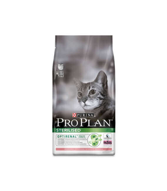 Croquettes STERILISED SAUMON Chat Sac 3 kg - Proplan