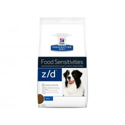Croquettes Z/D ALLERGY Chien Sac 10 kg - Prescription Diet