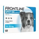 FRONTLINE SPOT ON CHIEN M 10/20KG 6 PIP