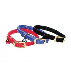 COLLIER CHAT ELAST10MM-30CM GRELOT ROUGE