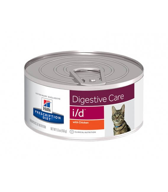 Pâtée I/D DIGESTIVE CARE POULET Chat 24x156g - Prescription Diet