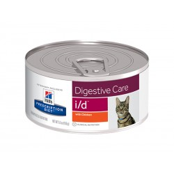 Prescription Diet Chat I/D DIGESTIVE CARE 24 Boîtes 156 g