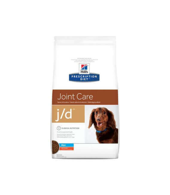 Croquettes J/D MINI JOINT CARE POULET Chien Sac 2 kg - Prescription Diet