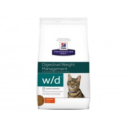 Croquettes W/D DIGESTIVE/WEIGHT MANAGEMENT POULET Chat Sac 1.5 kg - Prescription Diet