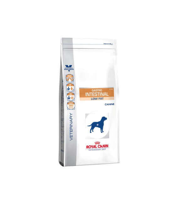 Croquettes GASTRO INTESTINAL LOW FAT Sac 12 kg Chien - Veterinary Diet
