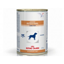 Veterinary Diet Chien GASTRO INTESTINAL LOW FAT 12 Boîtes de 410 g