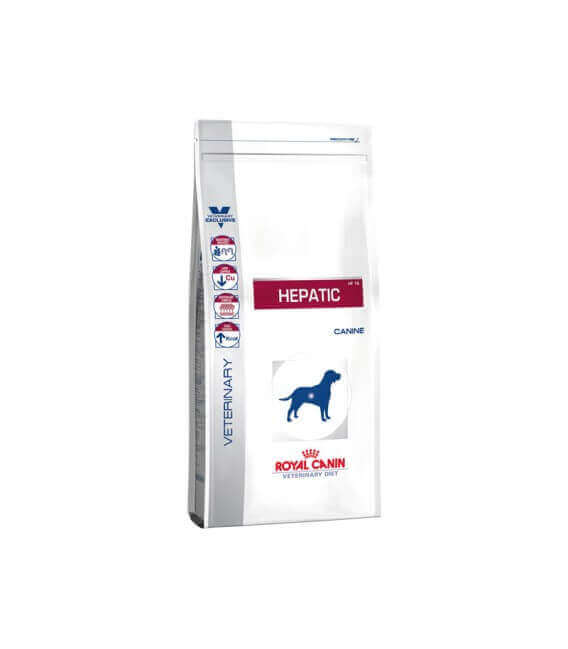 Croquettes HEPATIC Sac 12 kg Chien - Veterinary Diet