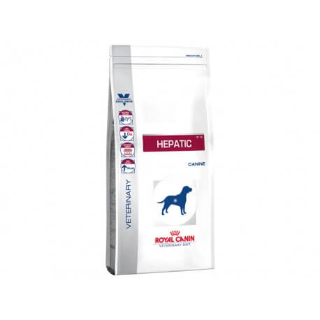 Croquettes HEPATIC Sac 12 kg Chien - ROYAL CANIN Veterinary Diet