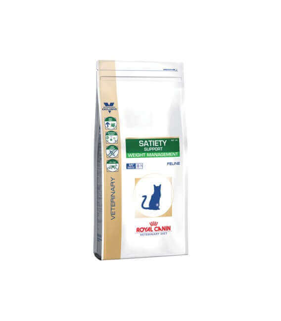 Croquettes SATIETY WEIGHT MANAGEMENT Chat Sac 3.5 kg - Veterinary Health Nutrition
