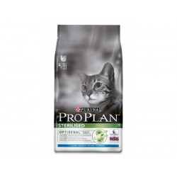 Croquettes STERILISED OPTIRENAL LAPIN Chat Sac 400 g - Pro Plan