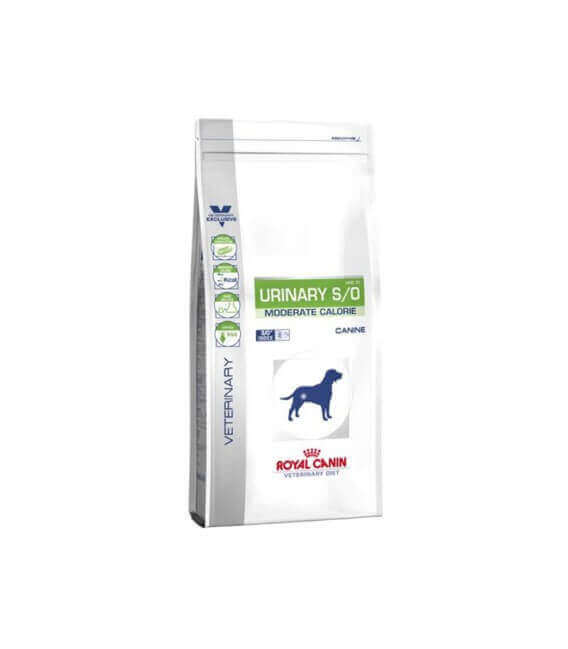 Croquettes URINARY S/O MODERATE CALORIE Chien Sac 12 kg - Veterinary Health Nutrition