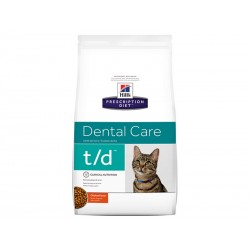 Croquettes T/D DENTAL CARE POULET Chat Sac 1.5 kg - Prescription Diet
