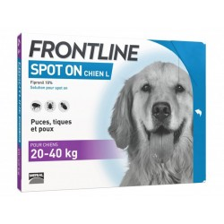 FRONTLINE Grand Chien 20-40 kg Spot-on 4 pipettes