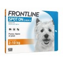 Solution SPOT-ON S CHIEN 4 pip. - Frontline