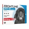 Solution SPOT-ON XL Chien 4 pip. - Frontline