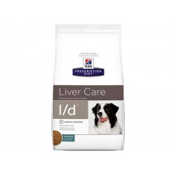 Croquettes L/D LIVER CARE Chien Sac 12 kg - Prescription Diet