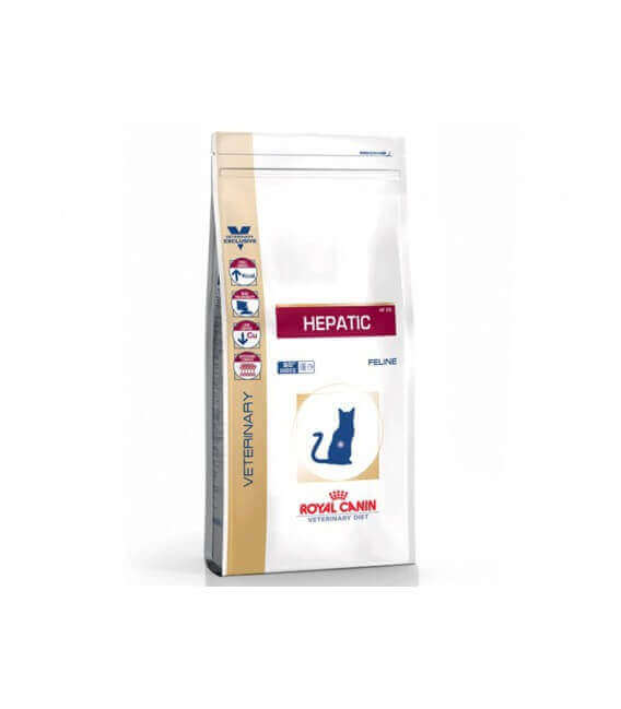 Croquettes HEPATIC Chat Sac 2 kg - Veterinary Health Nutrition