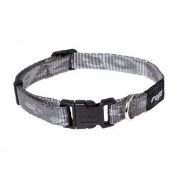 Collier Chien ALPINIST GRIS 25 mm - 43/73 cm