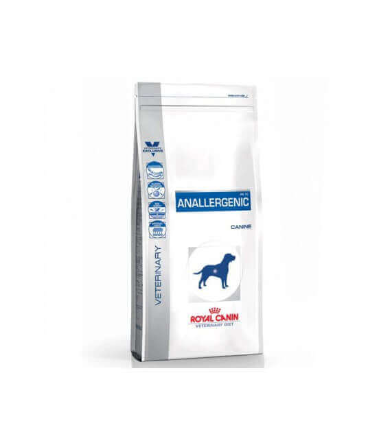 Croquettes ANALLERGENIC Chien Sac 8 kg - Veterinary Health Nutrition