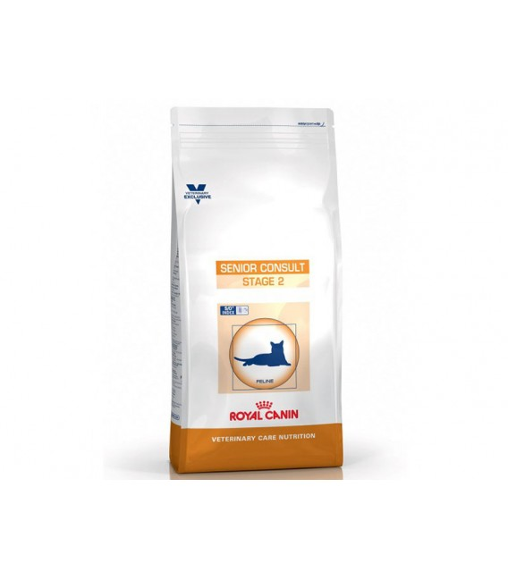 Croquettes SENIOR CONSULT STAGE 2 Sac 3.5 kg Chat - ROYAL CANIN Veterinary Care Nutrition