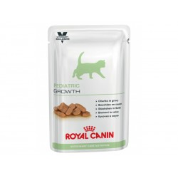 Veterinary Care Nutrition Chat PEDIATRIC GROWTH Sachets 12 X 100 g