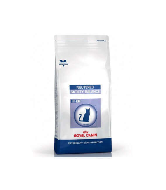 Croquettes NEUTERED SATIETY BALANCE Chat Sac 1.5 kg - Veterinary Health Nutrition