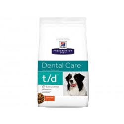 Croquettes T/D DENTAL CARE Chien Sac 3 kg - Prescription Diet