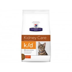 Croquettes K/D KIDNEY CARE POULET Chat Sac 5 kg - Prescription Diet