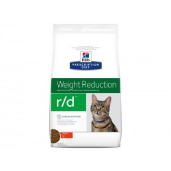 Croquettes R/D WEIGHT REDUCTION Chat Sac 5 kg - Prescription Diet