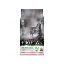 Croquettes STERILISED OPTIRENAL SAUMON Chat Sac 10 kg - Pro Plan