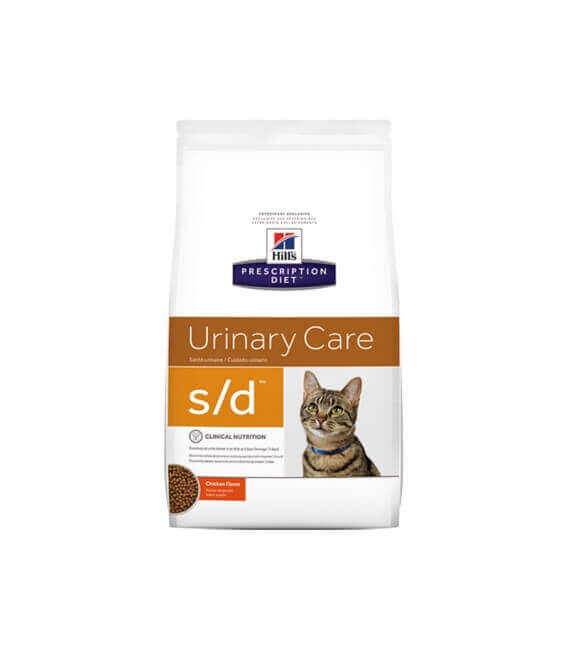 Croquettes S/D URINARY CARE Chat Sac 5 kg - Prescription Diet