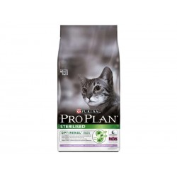 Croquettes STERILISED OPTIRENAL DINDE Chat Sac 10 kg - Pro Plan