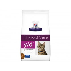 Croquettes Y/D THYROID CARE Chat Sac 1.5 kg - Prescription Diet