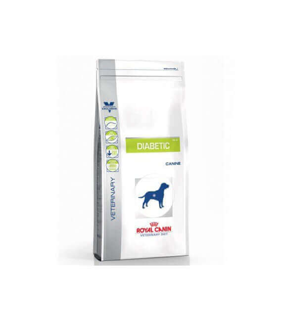 Croquettes DIABETIC Chien Sac 12 kg - Veterinary Health Nutrition