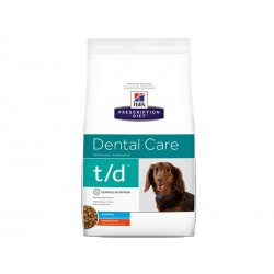 Corquettes T/D MINI DENTAL CARE Chien Sac 3 kg - Prescription Diet