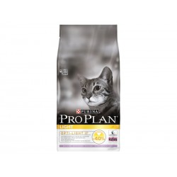 Croquettes ADULT LIGHT DINDE Sac 10 kg Chat - PURINA Proplan