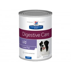Pâtée I/D DIGESTIVE CARE LOW FAT Chien 12x360g - Prescription Diet