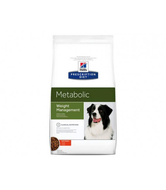 Croquettes METABOLIC POULET Chien Sac 12 kg - Prescription Diet