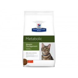 Croquettes METABOLIC POULET Chat Sac 4 kg - Prescription Diet