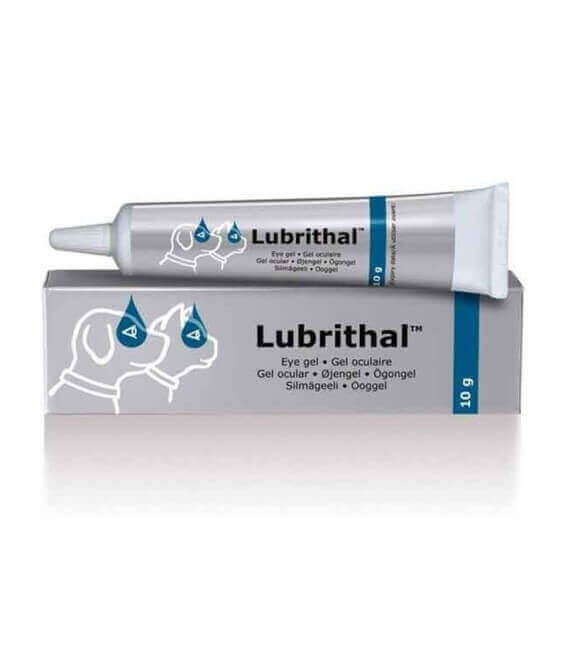 Gel oculaire Chien Chat LUBRITHAL Tube 10 g