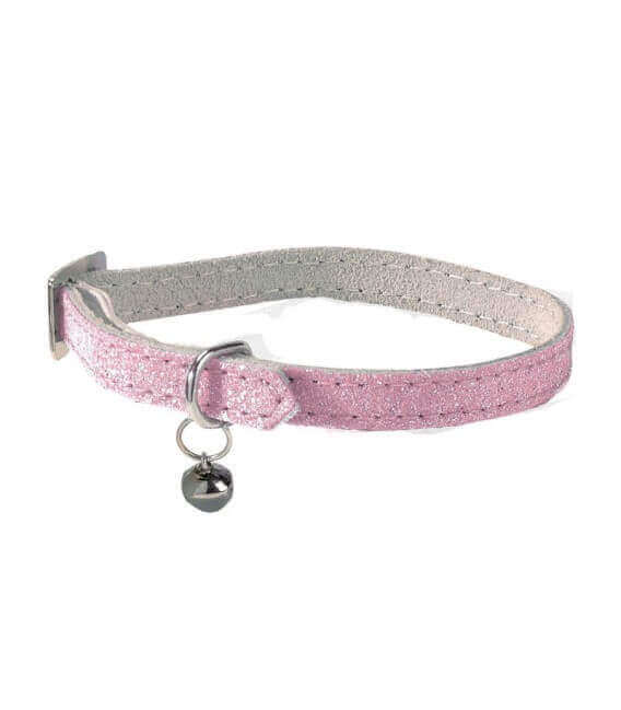 Collier PAILLETE ROSE Chat