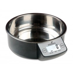 Gamelle Chien Chat PET BOWL BALANCE INTEGREE NOIRE 1.8 l