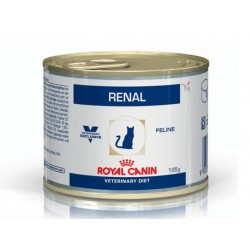 Veterinary Diet Chat RENAL POULET 12 Boîtes de 195 g