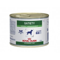 Pâtée SATIETY WEIGHT MANAGEMENT Chien 12x195g - Veterinary Health Nutrition