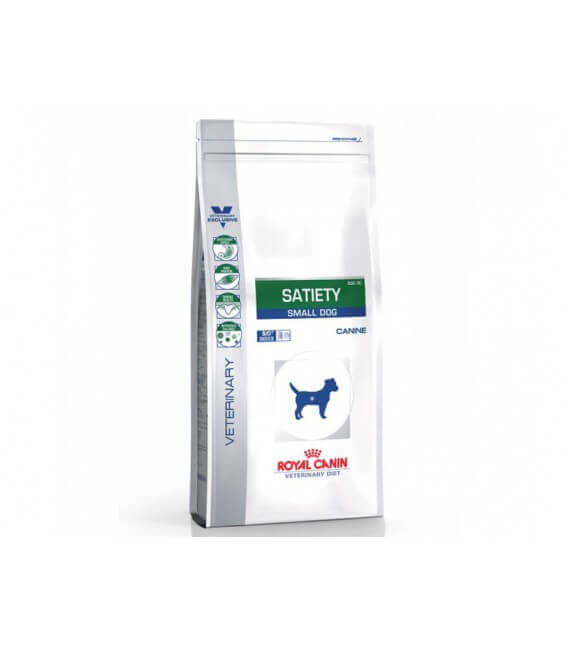 Croquettes SATIETY SMALL Chien Sac 8 kg - Veterinary Diet