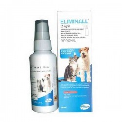 Solution ELIMINALL SPRAY Chien et Chat