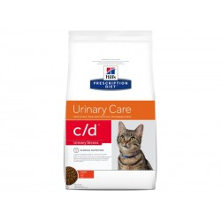 Croquettes C/D URINARY STRESS POULET Chat Sac 4 kg - Prescription Diet