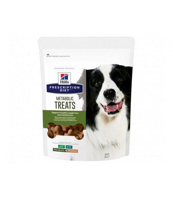 Friandises METABOLIC TREATS Chien Sac 220 g - HILL'S Prescription Diet