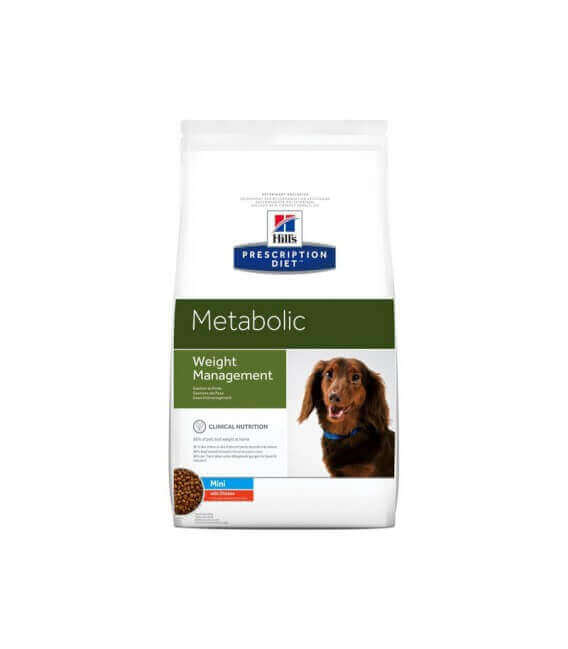 Croquettes METABOLIC MINI POULET Chien Sac 6 kg - Prescription Diet