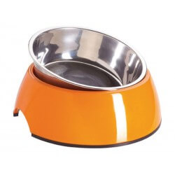 Gamelle orange T.2 Chien
